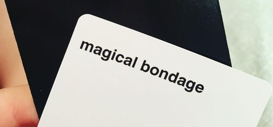 I Got This Bruise From Magical bondage- Cards Against Muggles