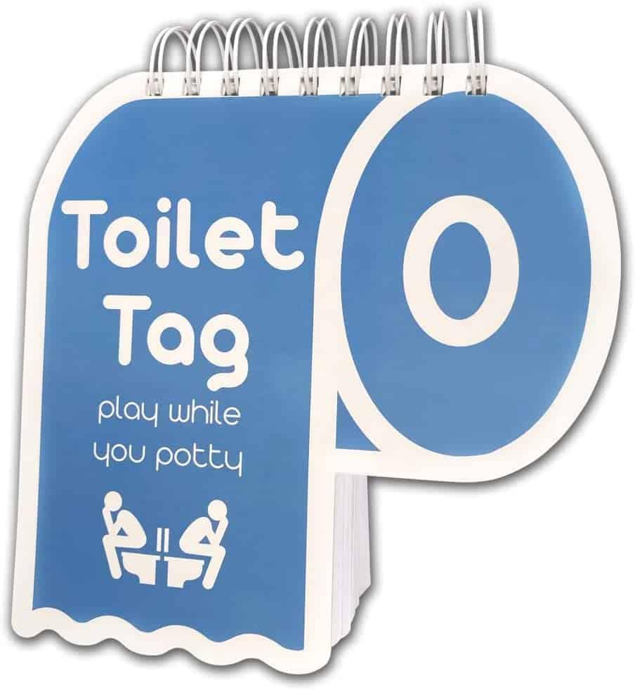 toilet tag