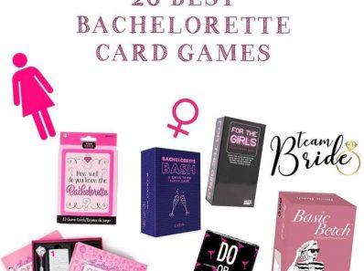 Bachelorette Card Games