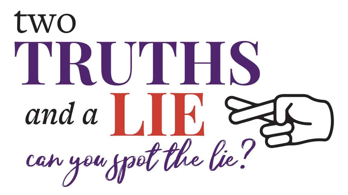 Two Truths And A Lie - Drinking Game