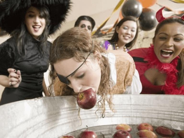 Apple Bobbing Game