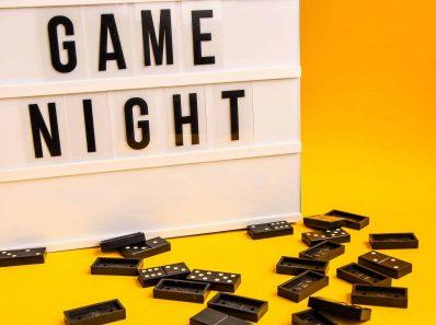 hosting game night photo